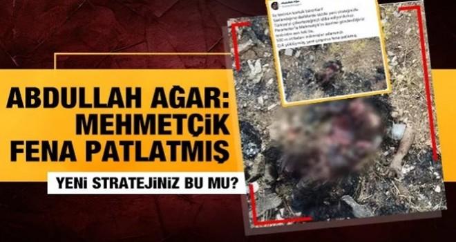 Abdullah Ağar: Mehmetçik adamınızı 500 metreden indirmiş