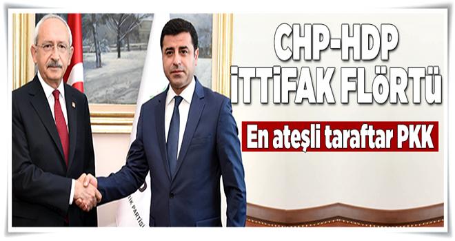 CHP-HDP ittifak flörtü  .
