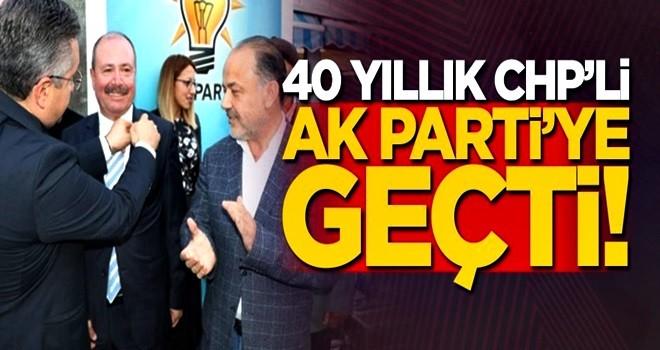 40 yıllık CHP'li, AK Parti'den aday oldu!