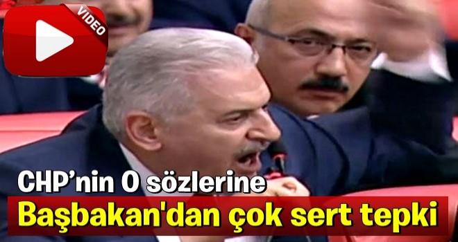 Başbakan Yıldırım'ın CHP'li vekile verdiği yanıt ayakta alkışlandı .