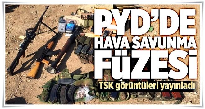TSK, Zeytin Dalı Harekatında ele geçirilen silahları paylaştı .