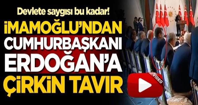 Belediye başkanı'ndan Cumhurbaşkanı Erdoğan'a çirkin tavır
