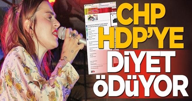 CHP, HDP'ye diyet ödemeye başladı