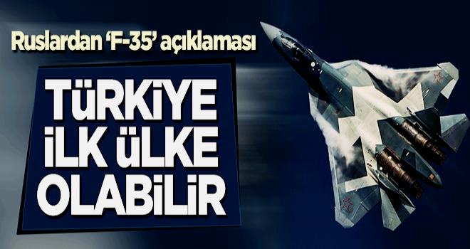 Ruslardan 'F-35' açıklaması: Türkiye, Su-57'leri ithal eden ilk ülke ilk ülke olabilir