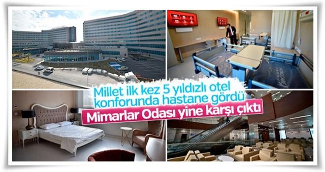 Mimarlar Odası şehir hastanelerinin yapımına karşı