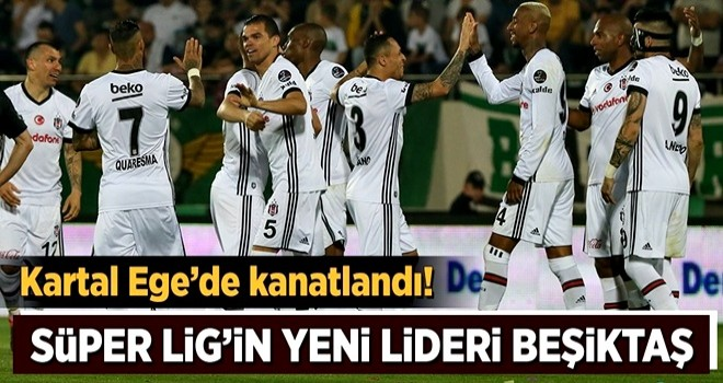 Beşiktaş, Akhisar'ı rahat geçti
