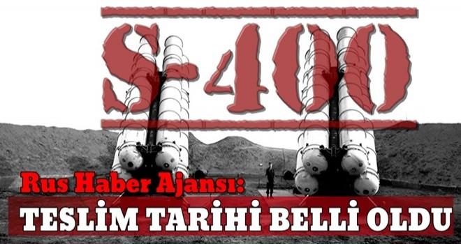 Rus Haber Ajansı: S-400'ler 2019'da Türkiye'ye teslim edilecek
