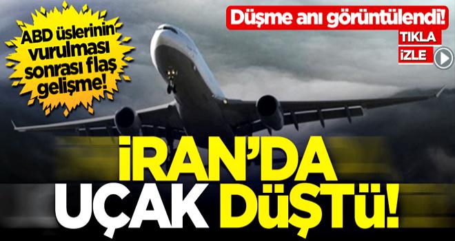 İran'da içinde 180 kişi bulunan Ukrayna Hava Yolları'na ait yolcu uçağı İmam Humeyni Havaalanı yakınlarında düştü!