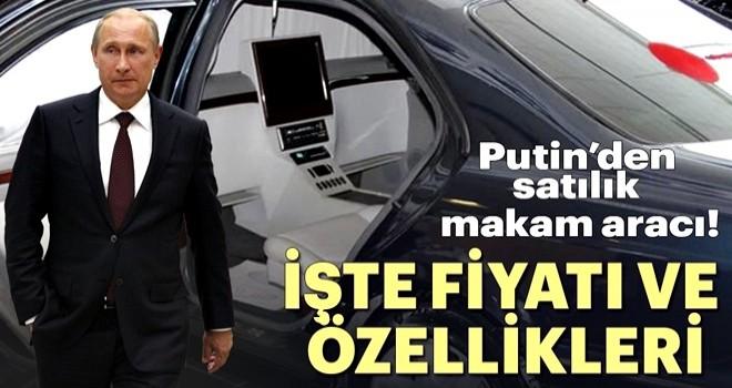 'Putin'den satılık makam aracı! İşte fiyatı