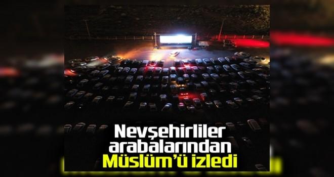Nevşehir'de arabalı sinema etkinliği