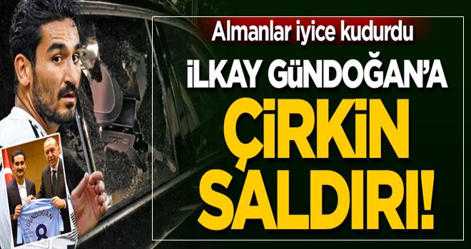 Almanlar iyice kudurdu... İlkay Gündoğan'a saldırı!
