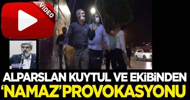 Alparslan Kuytul ve ekibinden 'namaz' provokasyonu!