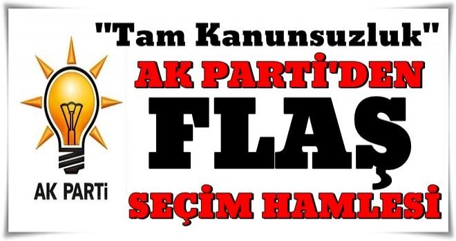 AK Parti, İstanbul'da seçimlerin yenilenmesi için başvuru yaptı