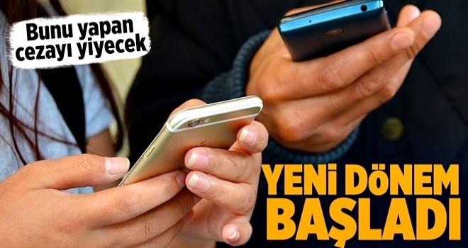 Onaysız gelen SMS'lere 50 bin liraya kadar ceza .