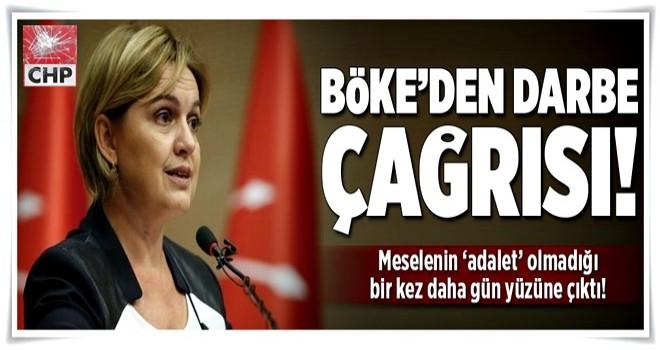 Selin Sayek Böke'den darbe çağrısı  .