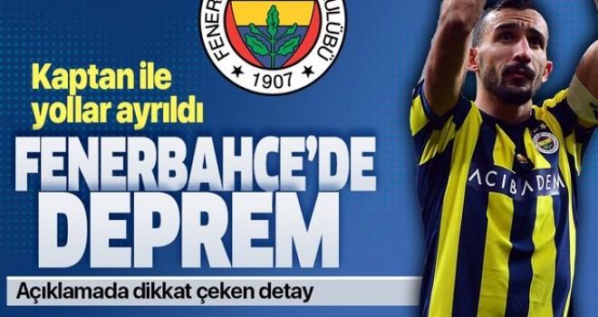Son dakika haberi: Fenerbahçe Mehmet Topal'la yollarını ayırdığını açıkladı .
