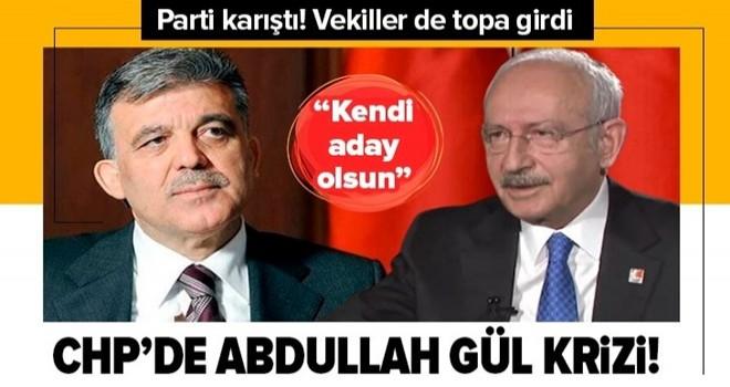 CHP karıştı! Barış Yarkadaş ve Mehmet Ali Çelebi'den flaş Abdullah Gül çıkışı .