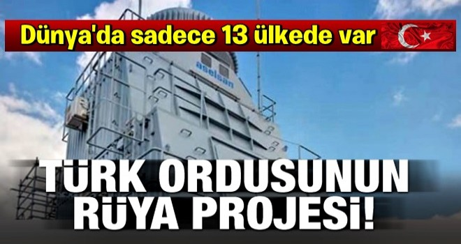Türk ordusunun rüya projesi TF-2000'in beyni hazır