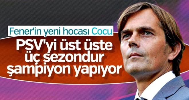 Cocu Fenerbahçe'nin başına geçiyor