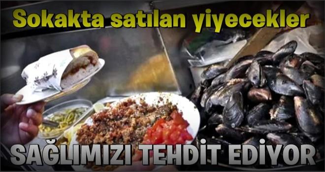 İstanbul'da yapılan araştırmada sokakta satılan yiyeceklerin insan sağlığını tehdit ettiği ortaya çıktı