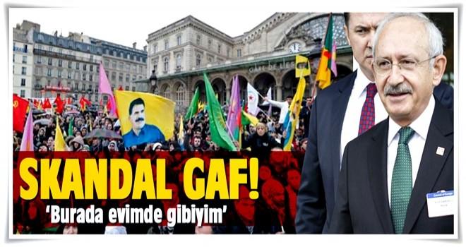 Kılıçdaroğlu: Burada evimde gibiyim