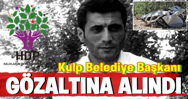 Diyarbakır'daki hain saldırı sonrası HDP'li Kulp Belediye Başkanı gözaltında.