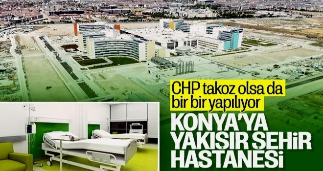 Konya Şehir Hastanesi, hasta kabulüne başladı