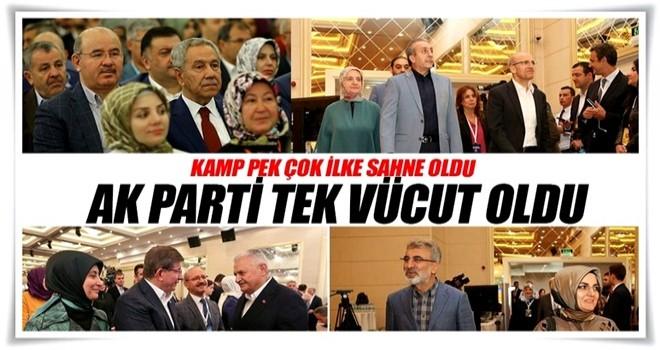 AK Parti tek vücut oldu