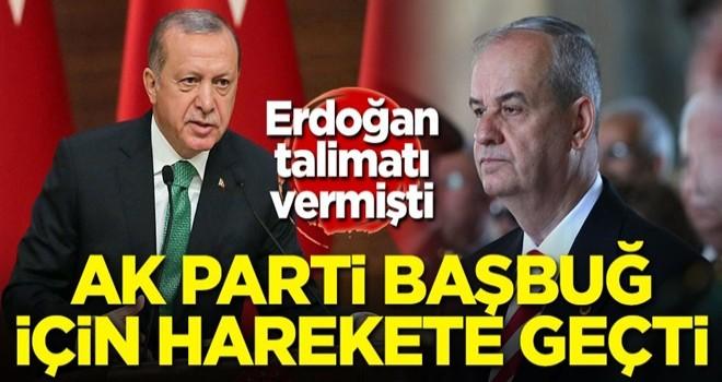 Başkan Erdoğan talimatı vermişti! AK Parti İlker Başbuğ için harekete geçti