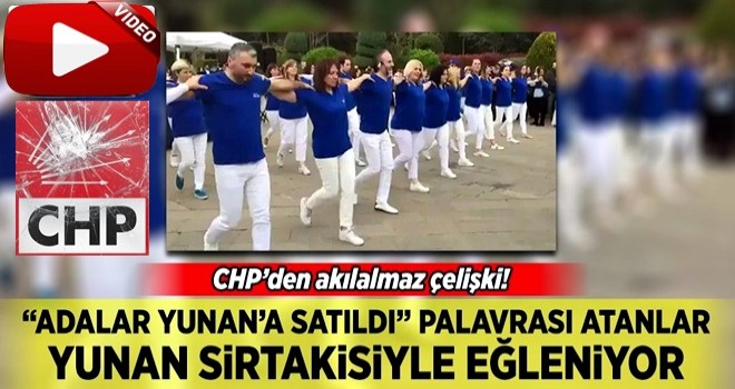 CHP'liler Sağlık Şenliği'nde Sirtaki oynadı