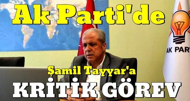 AK Parti'de Şamil Tayyar'a kritik görev