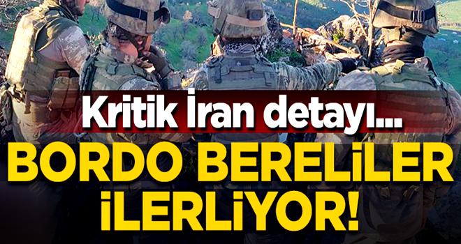 Bordo Bereliler Kandil'e ilerliyor! İki nokta İran'ın kontrolünde