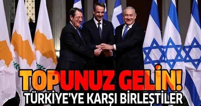 İsrail'den Doğu Akdeniz'de Türkiye'ye karşı Yunanistan'a destek: