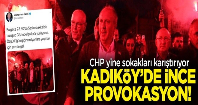 CHP'nin Kadıköy provokasyonu böyle deşifre edildi .