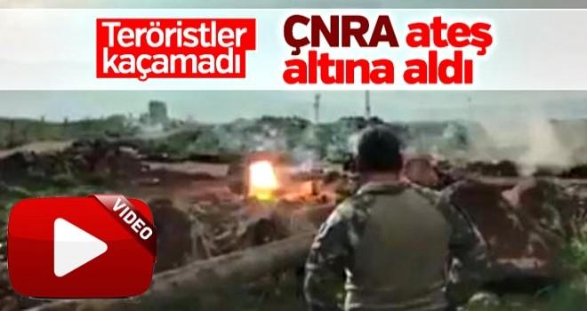 Terör hedefleri ÇNRA ile vuruldu