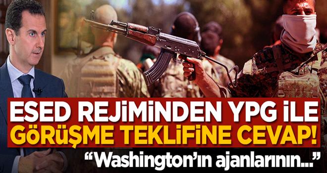 Esed rejimi YPG ile görüşmeyi kabul etmedi!