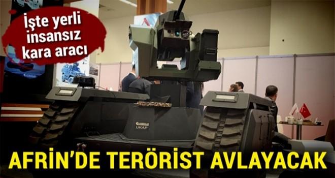 Afrin'de terörist avlayacak