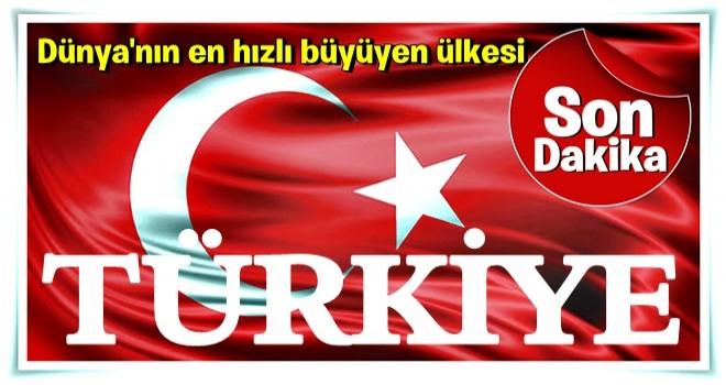 Son dakika: Türkiye 3. çeyrekte yüzde 11,1 büyüdü!