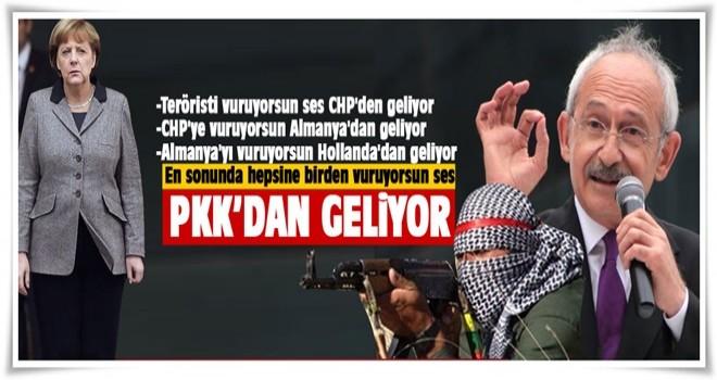 'Teröriste vuruyorsun ses CHP'den geliyor'