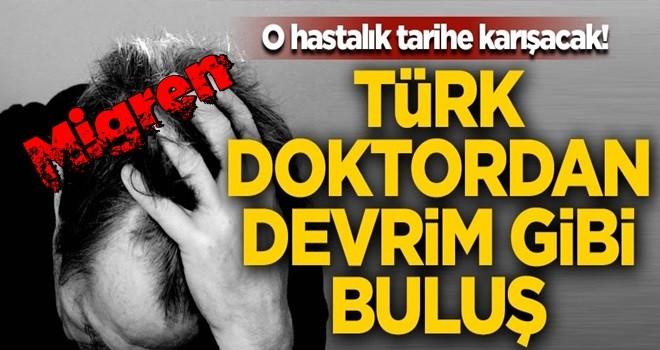 Türk doktordan devrim gibi buluş! Migren ağrıları tarihe karışacak