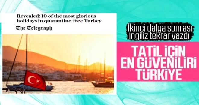 İngiliz medyasından tatil için Türkiye'ye övgü dolu sözler