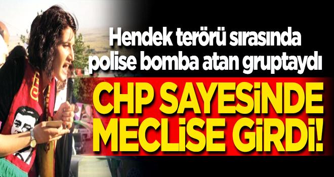 Polise bomba atan gruptaydı! HDP'den Meclis'e girdi