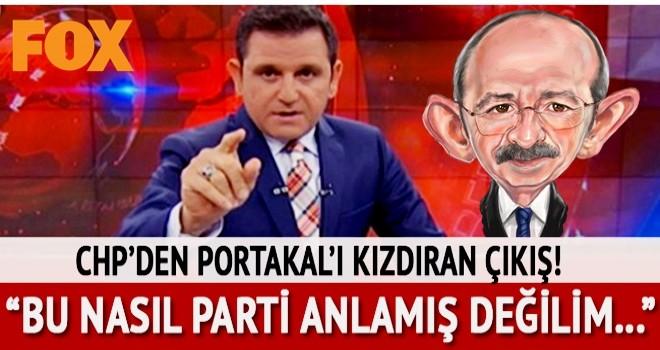 CHP, Fatih Portakal'ı kızdırdı: Bu nasıl parti anlamış değilim