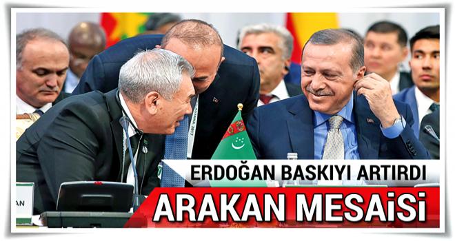 Erdoğan: Arakan için birlikte mücadele etmeliyiz