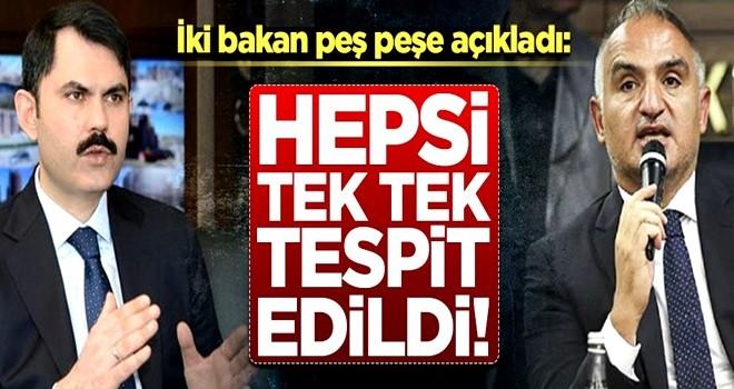 Bakan Kurum net konuştu: Hepsi yıkılacak!