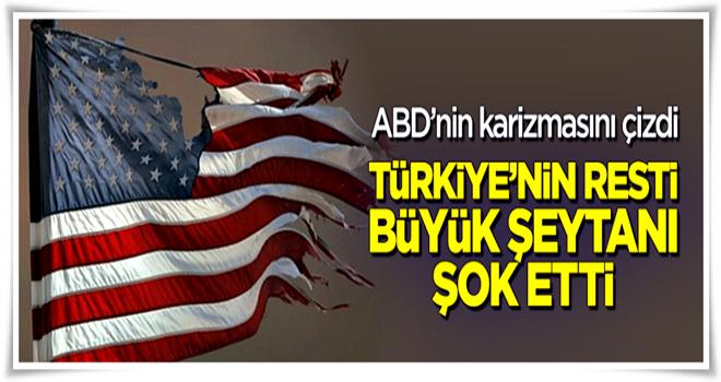 Türkiye'nin vize resti Büyük Şeytanı şok etti