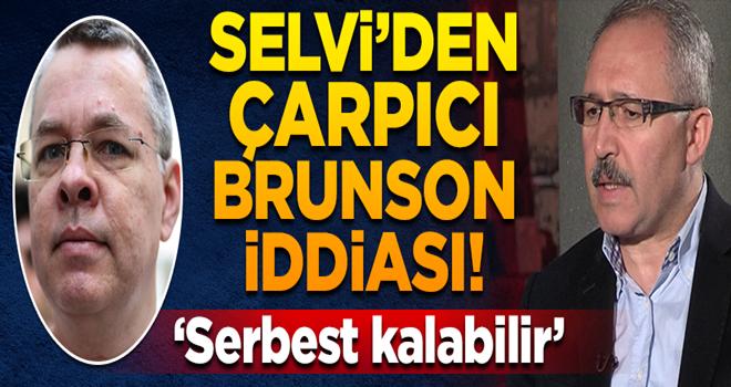 Selvi'den çarpıcı Brunson iddiası!