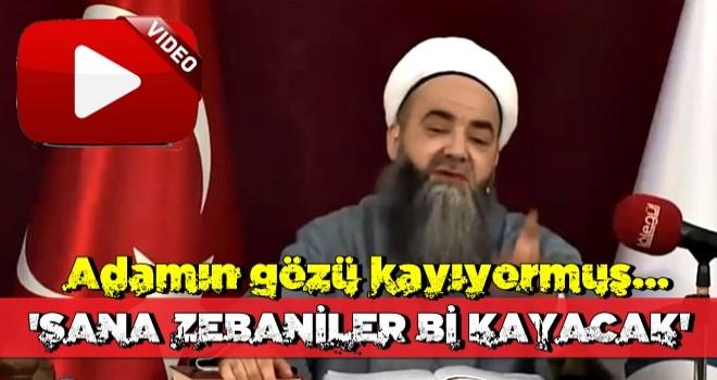 Cübbeli Ahmet Hoca'dan muhteşem yorum: Zebaniler de sana kayacak!