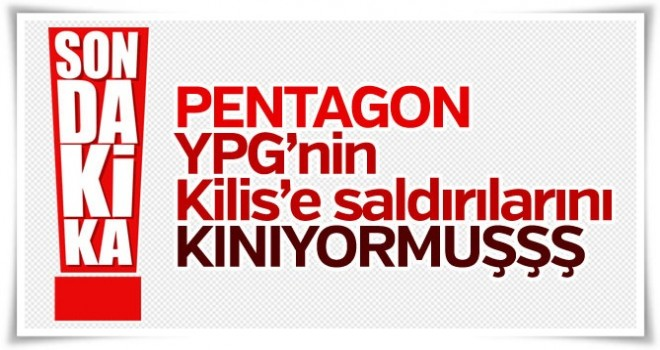 Pentagon: Türkiye'ye yönelik saldırıları kınıyoruz