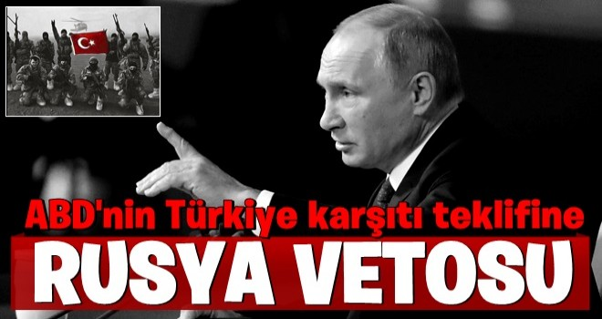 Rusya BMGK'nin Türkiye'nin harekatı durdurma çağrısını engelledi